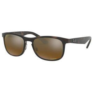 Ray-Ban RB4263 Tortoise Sunglasses - Polarized Bronze Mirror Chromance Lens