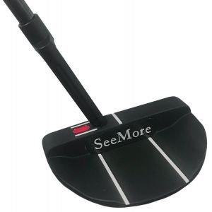 SeeMore Classic Series Black Si5 Mallet Putter RST Hosel