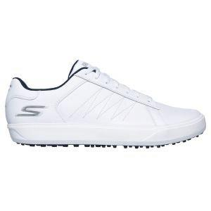 Skechers Go Golf Drive 4 Spikeless Golf Shoes White/Navy