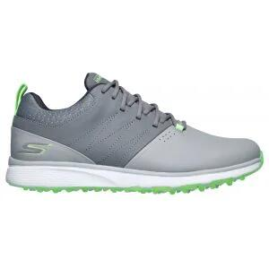 Skechers Mojo Elite Punch Shot Golf Shoes Gray/Lime