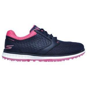 Skechers Womens Go Golf Elite V3 Grand Golf Shoes Navy/Pink