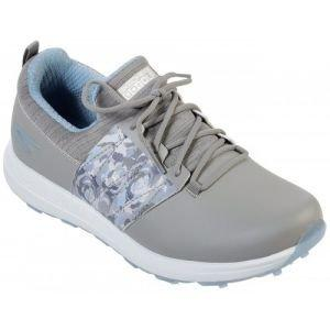 Skechers Womens Go Golf Max Lag Golf Shoes - Gray/Blue