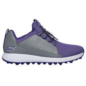Skechers Womens Go Golf Max Mojo Golf Shoes Gray/Purple