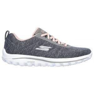 Skechers Womens Go Golf Walk Sport Golf Shoes Navy/Pink