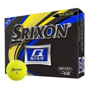 2019 Srixon Q-Star 5 Yellow Golf Balls