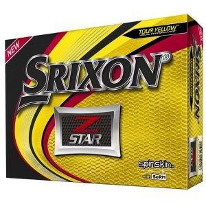 Srixon Z-Star 6 Golf Balls Yellow 2019