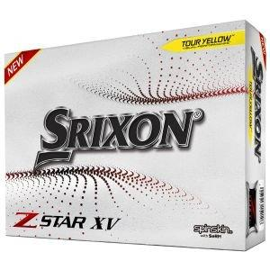 Srixon Z-STAR XV 7 Yellow Golf Balls Packaging