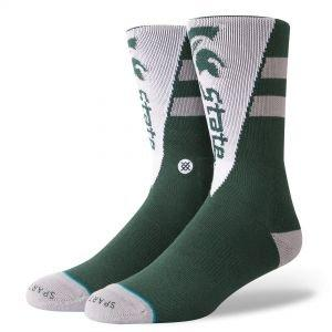 Stance Michigan State Pennant Crew Socks