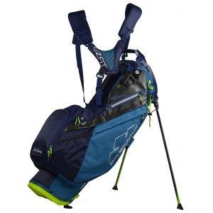 Sun Mountain Four 5 LS Supercharged Stand Bag 2019 - ON SALE - NAVY/STELL/RUSH