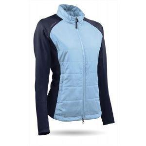 Sun Mountain Womens Hybrid Longsleeve Wind Jacket