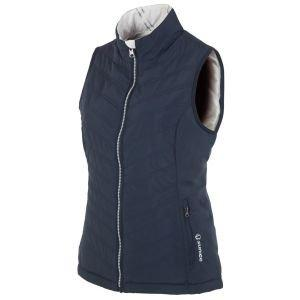 Sunince Women's Climaloft Lightweight Thermal Reversible Golf Vest