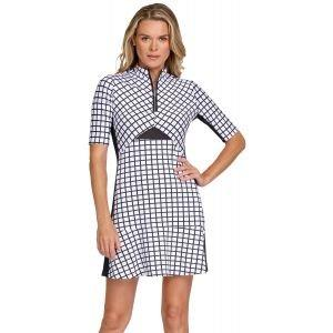 Tail Women's Rosemarie Golf Dress Balanced Grid