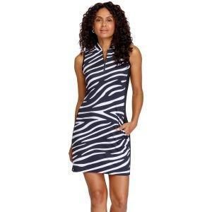 Tail Women's Roxie Sleeveless Golf Dress Wild Zebra