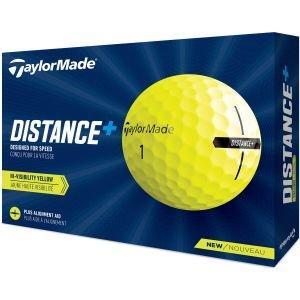 2021 TaylorMade Distance+ Yellow Golf Balls