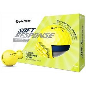 TaylorMade Soft Response Golf Balls Yellow 2020 - ON SALE