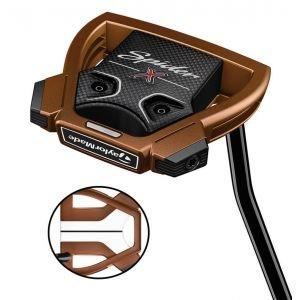 TaylorMade Spider X Copper/White Putter - Single Bend