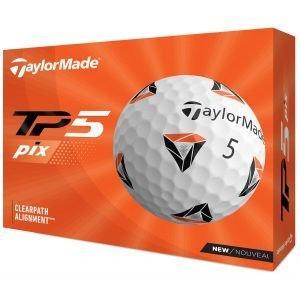 2021 TaylorMade TP5 pix Golf Balls Packaging
