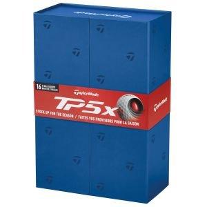 2021 TaylorMade TP5x 4 Dozen Golf Ball Promo Pack