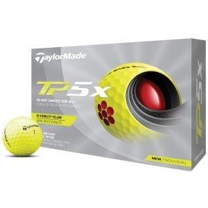 2021 TaylorMade TP5x Yellow Golf Balls Packaging