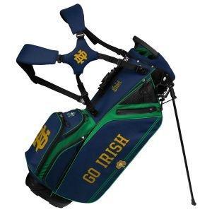 Team Effort Notre Dame Fighting Irish Caddie Carry Hybrid Stand Bag