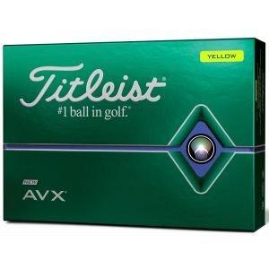 Titleist AVX Golf Balls 2020 - Yellow