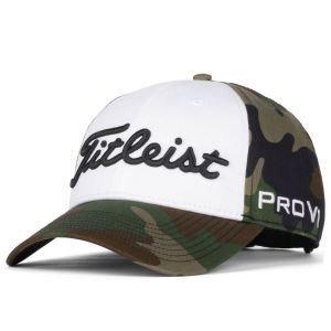 Titleist Camo Tour Cotton Standard Curve Golf Hat 2020