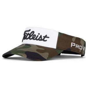 Titleist Camo Tour Cotton Golf Visor 2020