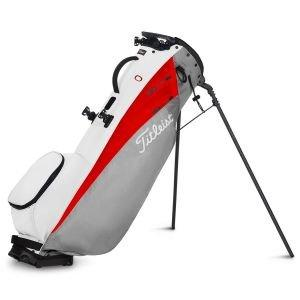 Titleist Players 4 Carbon Stand Bag 2021 - 261 GRY/RED/WHT