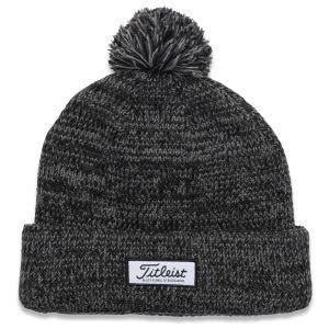 Titleist Pom Pom Winter Golf Hat Heathered 2020