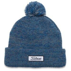 Titleist Pom Pom Winter Golf Hat Heathered