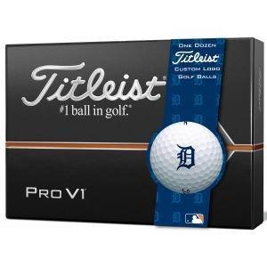 Titleist Pro V1 Golf Balls - Detroit Tigers
