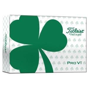 Titleist Pro V1 Golf Balls 2021 St. Patricks Day 6 Pack
