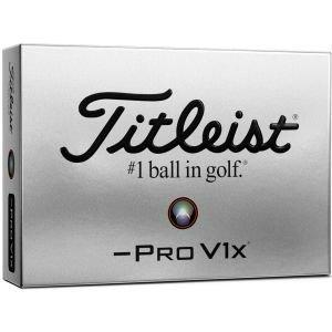 Titleist Pro V1x Left Dash Golf Balls Packaging