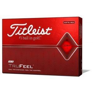 Titleist Trufeel Golf Balls 2020 - Matte Red