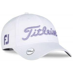 Titleist Womens Tour Performance White Collection Ball Marker Golf Hat 2020