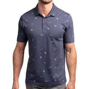 Travis Mathew Happy Thoughts Golf Polo