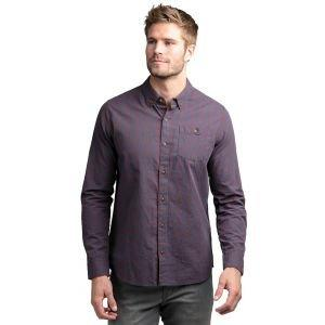 Travis Mathew Tightrope Long Sleeve Button Down Dress Shirt