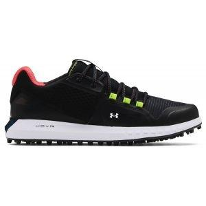 Under Armour UA HOVR Forge RC Spikeless Golf Shoes Black/Photon Blue Pair