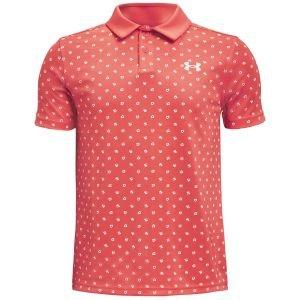 Under Armour Junior Boys Performance Poppie Golf Polo