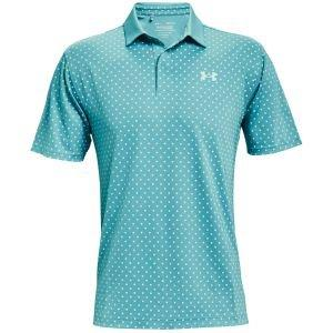 Under Armour Performance Printed Golf Polo - 476 COSMOS - XXXL