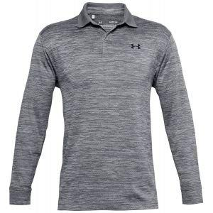 Under Armour Performance Textured Long Sleeve Golf Polo