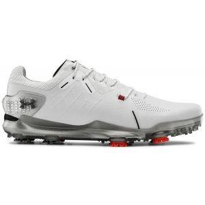 Under Armour Spieth 4 GTX Golf Shoes 2020 - White/Silver/Black