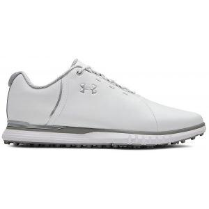 Under Armour Womens Fade SL Golf Shoes - White/Overcast Gray
