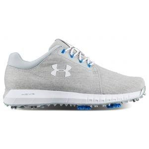 Under Armour Womens HOVR Drive Golf Shoes - White/Grey/Silver