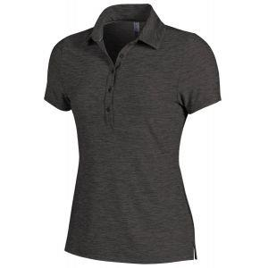 Under Armour Womens Zinger Heather Golf Polo Shirt - ON SALE - 9500 RHINO GRAY - XXL