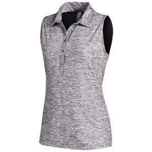 Under Armour Women's Zinger Sleeveless Golf Polo Shirt
