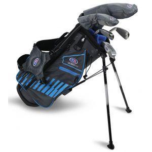 U.S. Kids UL48 5 Club Junior Golf Set Grey/Teal Bag