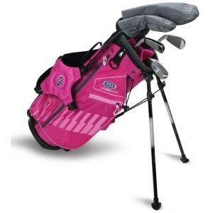 U.S. Kids UL48 5 Club Junior Golf Set - Pink/Pink Bag