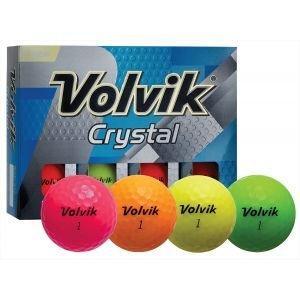 Volvik Crystal Golf Balls - Assorted Colors
