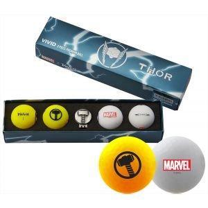Volvik Vivid Marvel Thor Golf Balls